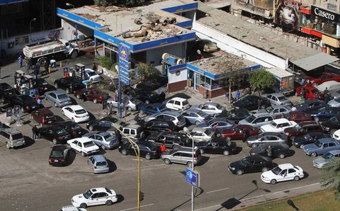 Fuel shortages cause panic in Egypt; government blames hoarders