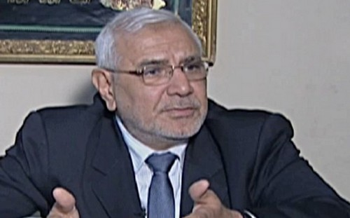 Egypt vote chaos boosts Moussa, Abol   Fotouh