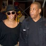 Beyonce's such a girl - she wears leopard print and heels to the basketball (which makes us love her even more)