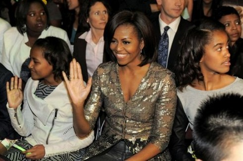 Michelle Obama Invites One Direction To The White House