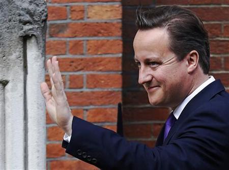 Britain's Prime Minister David Cameron in London June 14, 2012. REUTERS/Luke MacGregor