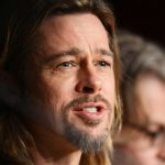 """US actor Brad Pitt attends the press conference of """"Killing them Softly"""" presented in competition at the 65th Cannes film festival on May 22, 2012 in Cannes. AFP PHOTO / ANNE-CHRISTINE POUJOULAT (Photo credit should read ANNE-CHRISTINE POUJOULAT/AFP/GettyImages)"""