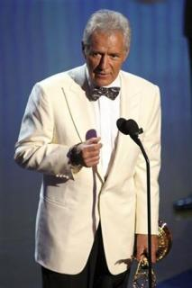 Television host Alex Trebek accepts the Lifetime Achievement Award during the 38th Annual Daytime Entertainment Emmy Awards at the Las Vegas Hilton in Las Vegas, Nevada, June 19, 2011. REUTERS/Richard Brian