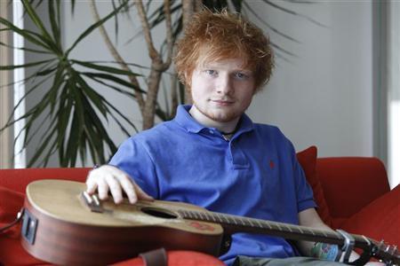 English musician Ed Sheeran poses in Los Angeles May 8, 2012. REUTERS/Sam Mircovich