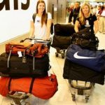 London 2012: Athletes start arriving for Olympic Games