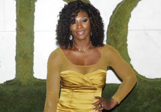 Serena Williams Is The Golden Girl At Wimbledon Party