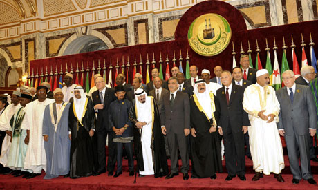 Islamic-countries-leaders-pose-for-official-photos-before-an-extraordinary-session-of-the-Organization-of-Islamic-Conference-in-Mecca