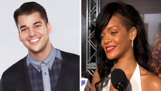 Rihanna spotted on a night out with Rob Kardashian