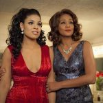 "Jordin Sparks and Whitney Houston in a scene from ""Sparkle"". REUTERS/Handout"