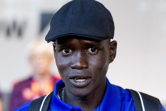 I'll run for world - South Sudanese