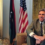 Christopher Stevens, the U.S. ambassador to Libya, smiles at his home in Tripoli June 28, 2012. REUTERS/Esam Al-Fetori