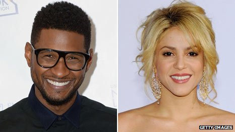 Usher and Shakira sign up as mentors for The Voice US