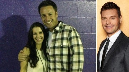 Justin Bieber's mom set up with Chris Harrison by Ryan Seacrest