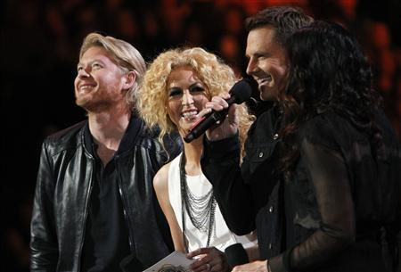 Little Big Town announces nominations during the Grammy Nominations Concert in Nashville, Tennessee December 5, 2012. REUTERS/Harrison McClary