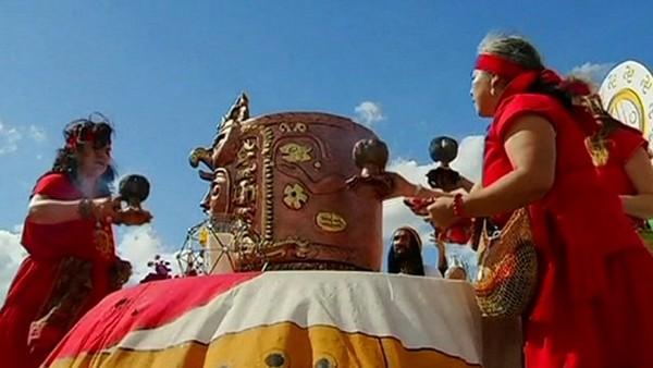Believers prepare for 'Mayan apocalypse'