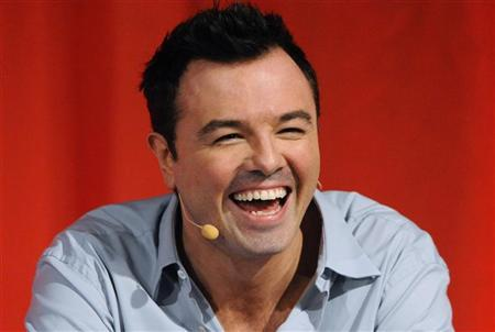 """Cast member, creator and executive producer Seth MacFarlane participates in the panel for """"American Dad"""" during the Fox summer Television Critics Association press tour in Beverly Hills, California August 2, 2010. REUTERS/Phil McCarten"""