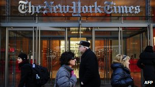 New York Times 'hit by hackers from China'