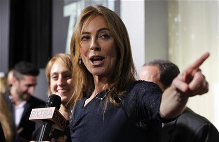 """Director and producer Kathryn Bigelow is interviewed at the premiere of """"Zero Dark Thirty"""" at the Dolby theatre in Hollywood, California December 10, 2012. The movie opens in the U.S. on January 11. REUTERS/Mario Anzuoni"""