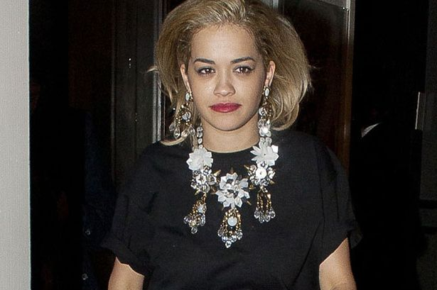 Who did Rita Ora spend the night with before partying with Harry Styles and Pixie Geldof again?