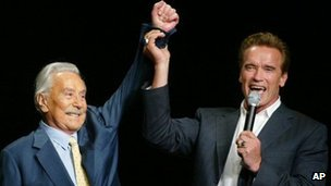 Schwarzenegger mentor Weider dies