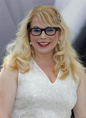"""Cast member Kristen Vangsness poses during a photocall for the TV series """"Criminal Minds"""" at the 52nd Monte Carlo Television Festival in Monaco June 12, 2012. REUTERS/Eric Gaillard"""