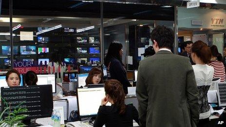 South Korea network attack 'a computer virus'