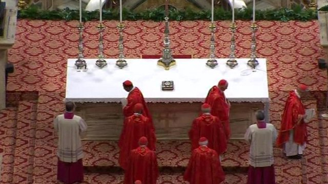 Rome conclave: Cardinals set to elect new Pope