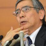 Bank of Japan's Haruhiko Kuroda in aggressive growth move