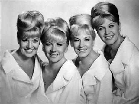 from left, Alyce, Marilyn, Yvonne, and Luise, of The King Sisters