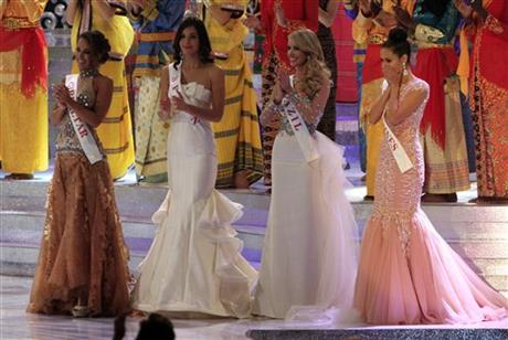 Miss World pageant final in Nusa Dua