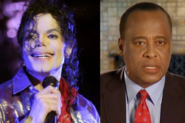 Michael Jackson and Conrad Murray