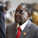 Zimbabwe's President Mugabe arrives for a meeting in Addis Ababa