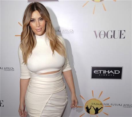 Kim Kardashian arrives at the inaugural Dream for Future Africa Foundation Gala