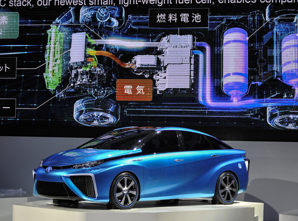 Toyota  Fuel-Cell Automobile