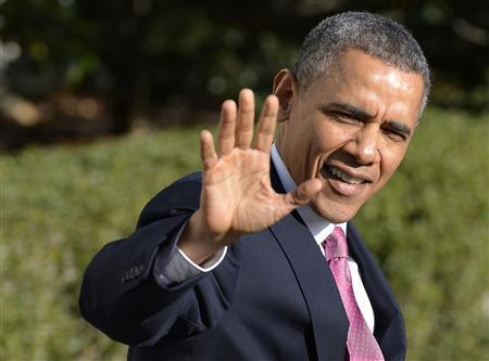Obama departs Washington for 3-day West Coast swing