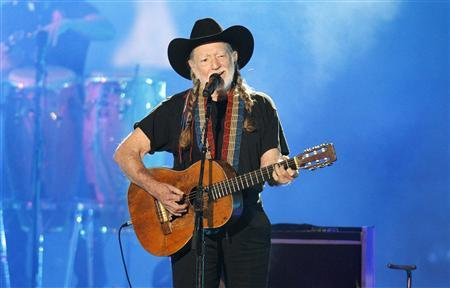 File photo of singer Willie Nelson performs at the 2012 CMT Music Awards in Nashville