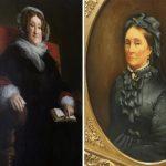 Mrs. Veuve Clicquot Ponsardin, left, and Mrs. Louise Veuve Pommery