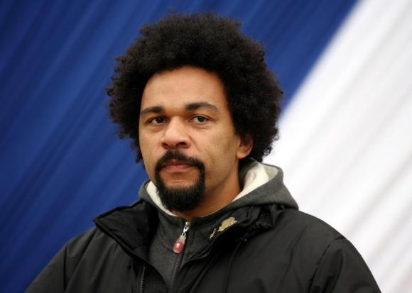 French actor Dieudonne during ceremony in Paris