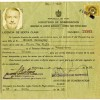 Ernest Hemingway's 1950 license to carry arms in Cuba