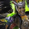 Brazil, A performer from the Mocidade samba school