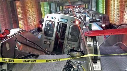 Chicago Train Derailment