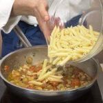 Pasta in Italian Food