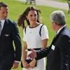 Britain's Kate, Duchess of Cambridge