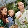 Prince George's first birthday, shows Britain's Prince William and Kate