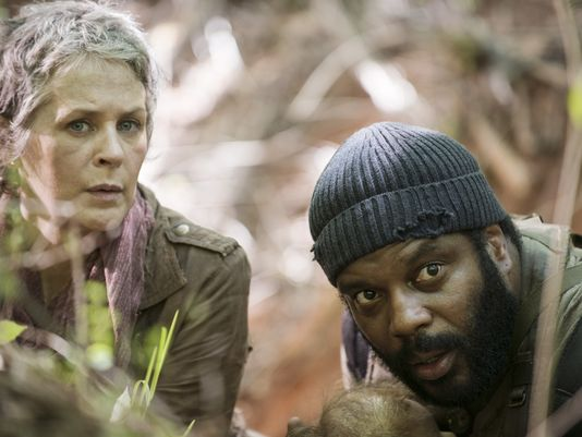 Carol (Melissa McBride), left, and Tyreese (Chad L. Coleman)