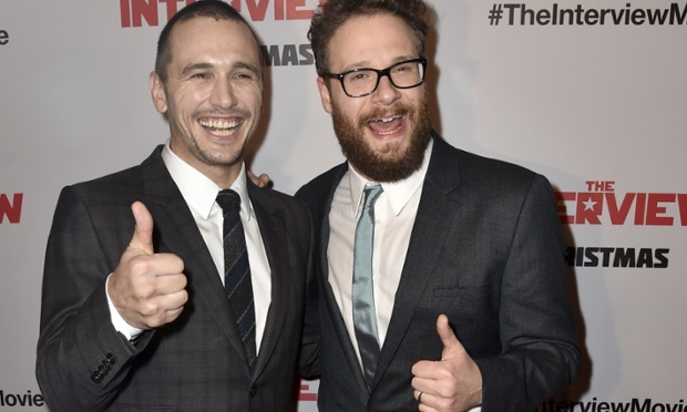 James Franco (left) and Seth Rogen