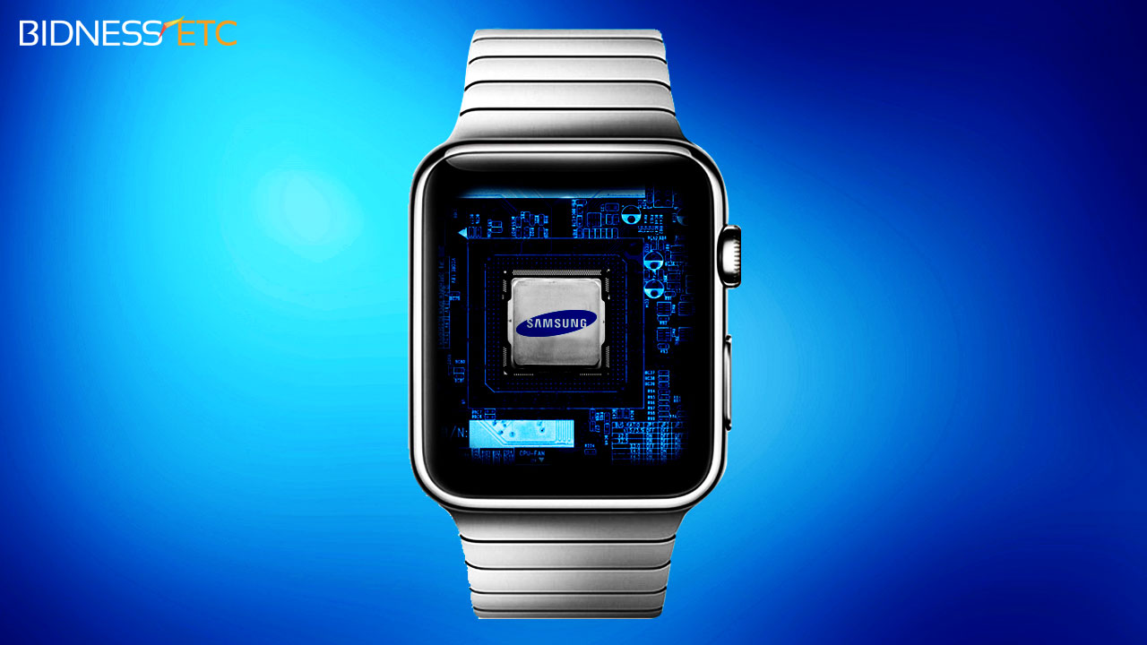 Samsung Group Lands Deal To Supply Apple Watch Processors