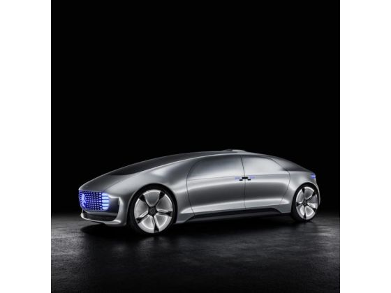 he Mercedes-Benz F 015 Luxury