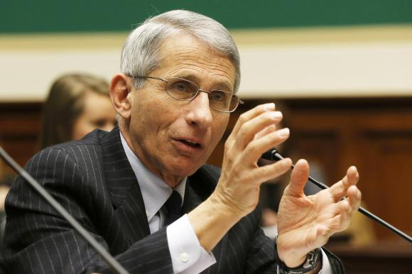 Fauci, Director of the National Institute of Allergy and Infectious Diseases, testifies about the U.S. measles outbreak before a House Energy and Commerce Oversight and Investigations Subcommittee on Capitol Hill in Washington