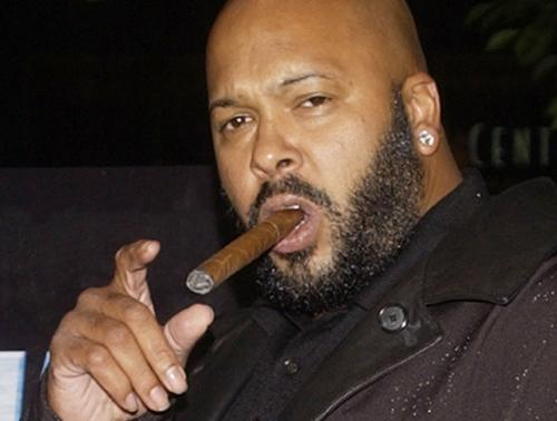 """File photo of Marion """"Suge"""" Knight at the premiere of """"Half Past Dead"""" in Los Angeles"""